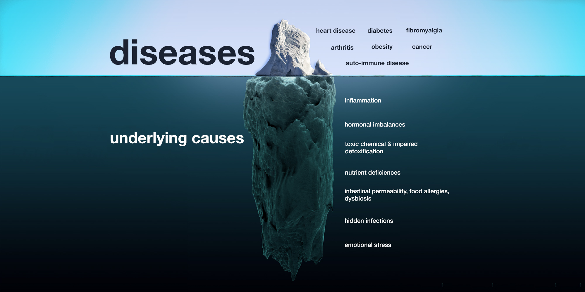Testing and treatments for underlying causes of diseases and conditions in Halifax NS